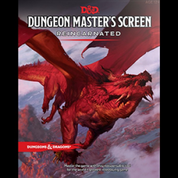 DUNGEONS AND DRAGONS RPG: MASTER'S SCREEN REINCARNATED