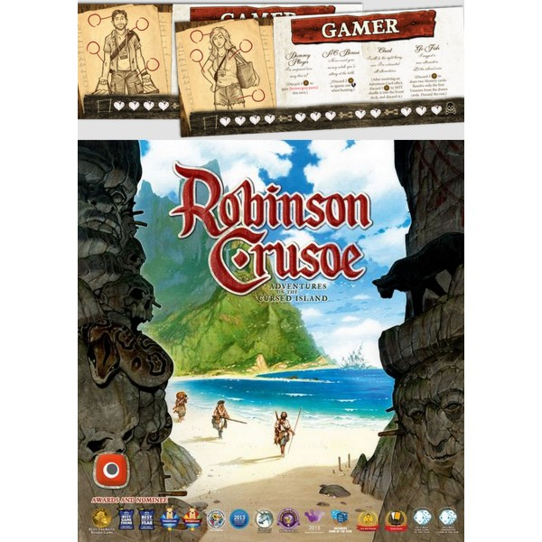 ROBINSON CRUSOE: ADVENTURE ON THE CURSED ISLAND + GAME CHARACTER PROMO