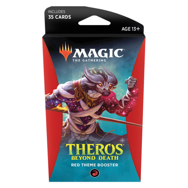 MAGIC THE GATHERING - THEROS BEYOND DEATH - THEME BOOSTER - RED