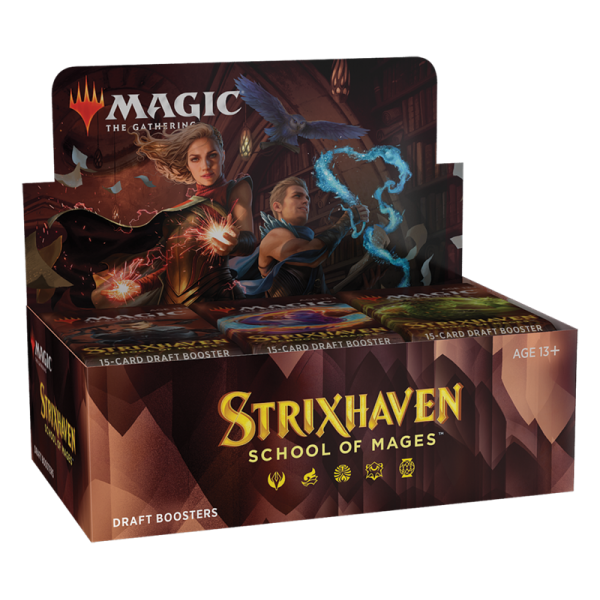 MAGIC THE GATHERING - STRIXHAVEN: SCHOOL OF MAGES - DRAFT BOOSTER BOX