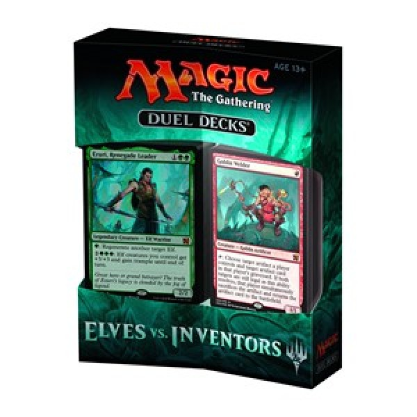 MAGIC THE GATHERING - ELVES VS INVENTORS - DUEL DECK