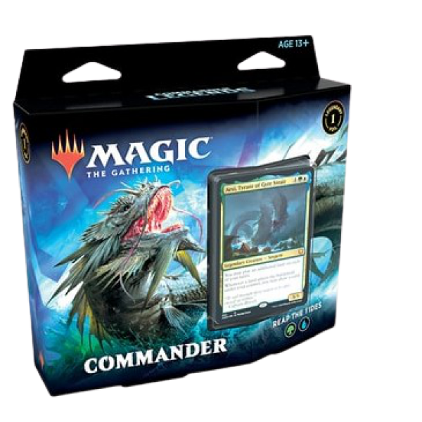 MAGIC THE GATHERING - COMMANDER LEGENDS - COMMANDER DECK - REAP THE TIDE