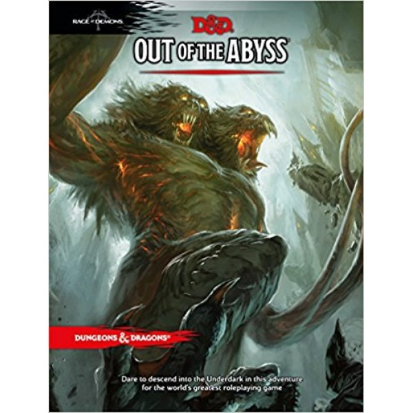 DUNGEONS AND DRAGONS RPG: OUT OF ABYSS