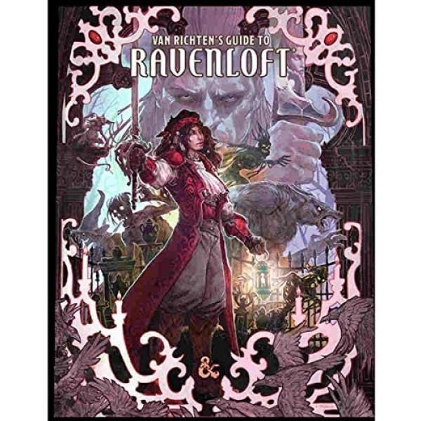 DUNGEONS AND DRAGONS RPG: VAN RICHTEN'S GUIDE TO RAVENLOFT - LIMITED EDITION