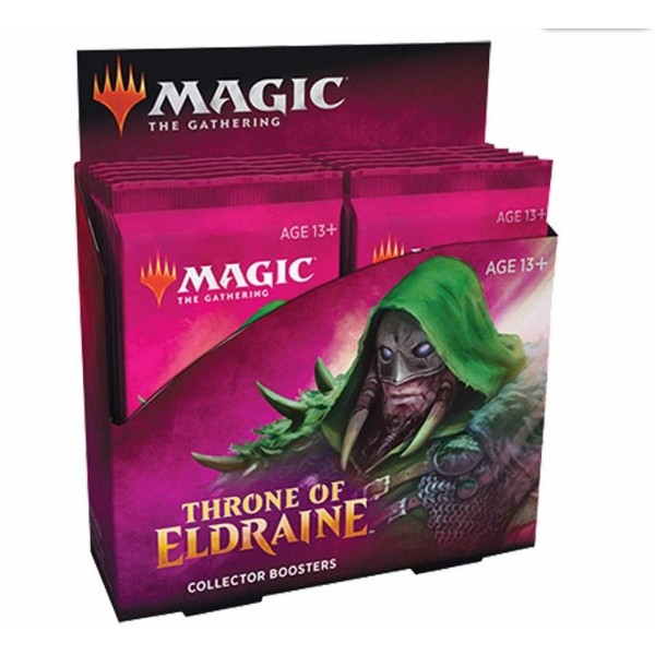MAGIC THE GATHERING - THRONE OF ELDRAINE - COLLECTOR BOOSTER DISPLAY