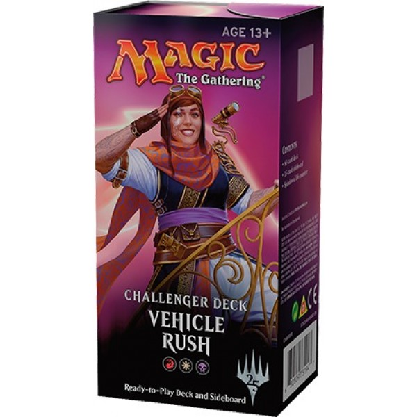 MAGIC THE GATHERING - CHALLENGER DECK - VEHICLE RUSH