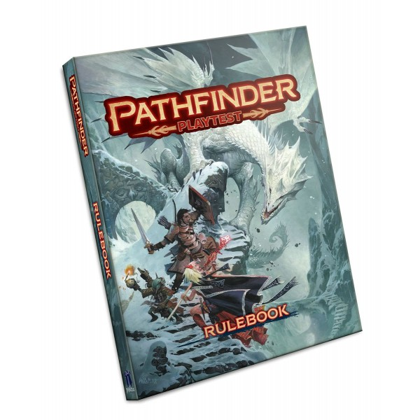 PATHFINDER PLAYTEST RULEBOOK - SOFTCOVER
