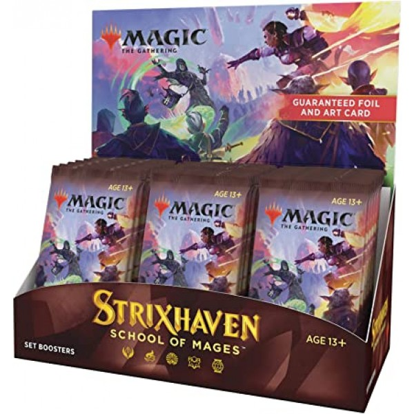 MAGIC THE GATHERING - STRIXHAVEN: SCHOOL OF MAGES - SET BOOSTER BOX