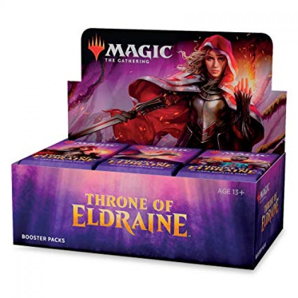 MAGIC THE GATHERING - THRONE OF ELDRAINE - BOOSTER DISPLAY (36 PACKS)
