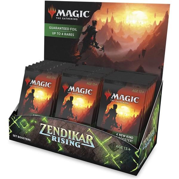 MAGIC THE GATHERING - ZENDIKAR RISING - SET BOOSTER BOX