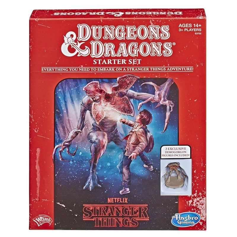 DUNGEONS AND DRAGONS - STRANGER THINGS STARTER SET, I Družabne ...
