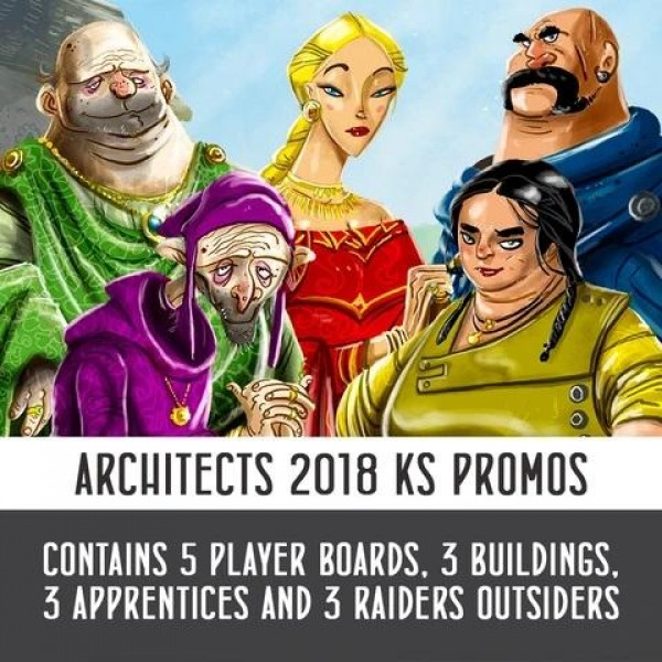 ARCHITECTS OF THE WEST KINGDOM PROMO PACK