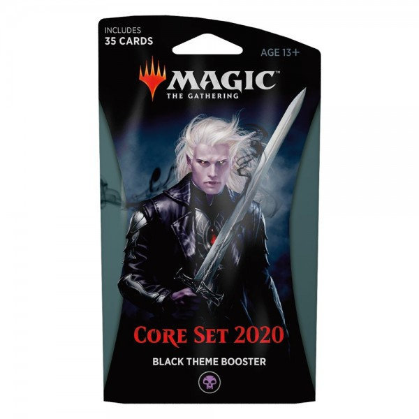 MAGIC THE GATHERING - CORE SET 2020 - THEME BOOSTER - BLACK