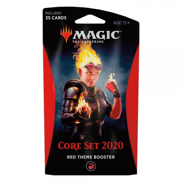 MAGIC THE GATHERING - CORE SET 2020 - THEME BOOSTER - RED
