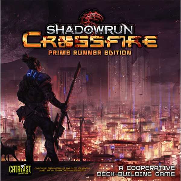 SHADOWRUN CROSSFIRE: PRIME RUNNER EDITION