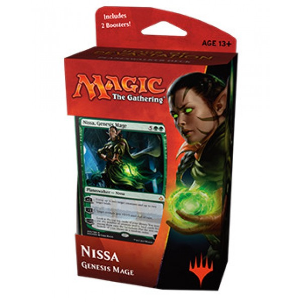 MAGIC THE GATHERING - HOUR OF DEVASTATION – PLANESWALKER DECK – NISSA