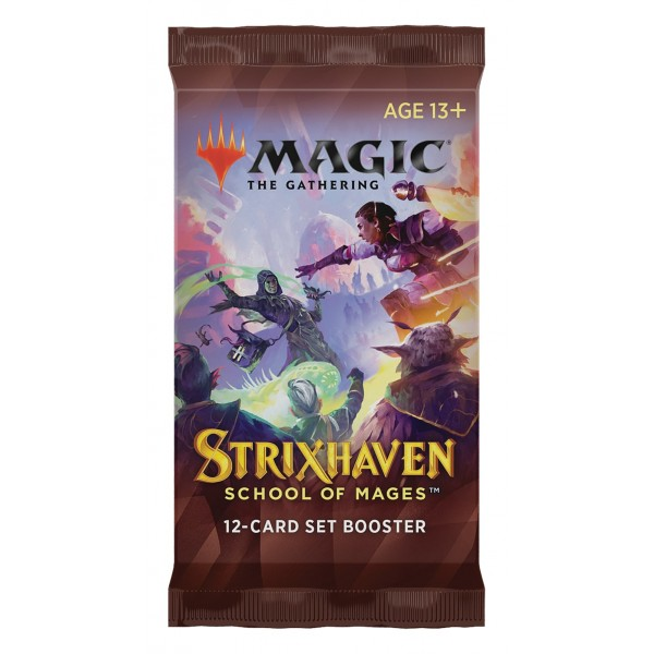 MAGIC THE GATHERING - STRIXHAVEN: SCHOOL OF MAGES - SET BOOSTER