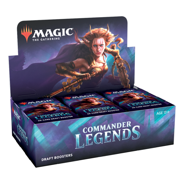 MAGIC THE GATHERING - COMMANDER LEGENDS - BOOSTER DRAFT BOX