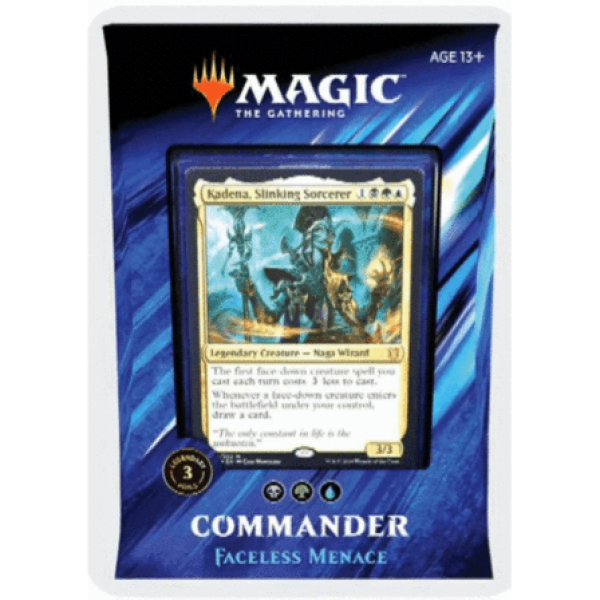 MAGIC THE GATHERING - COMMANDER 2019 - FACELESS MENACE