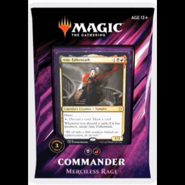 MAGIC THE GATHERING - COMMANDER 2019 - MERCILESS RAGE