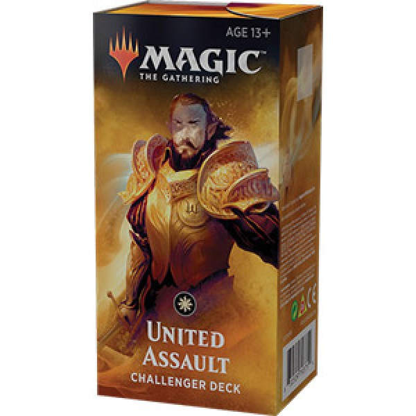 MAGIC THE GATHERING - CHALLENGER DECK 2019 - UNITED ASSAULT