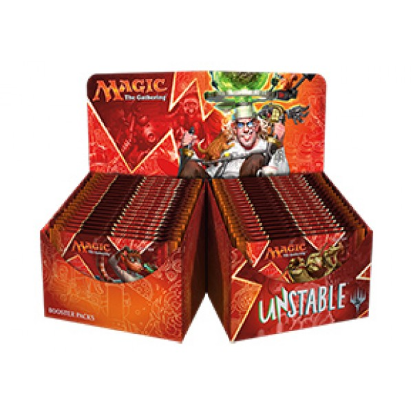 MAGIC THE GATHERING - UNSTABLE - BOOSTER DISPLAY (36 PACKS)