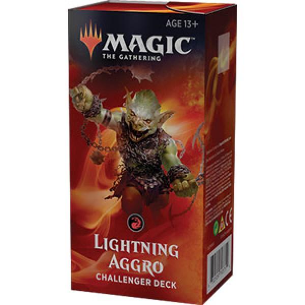 MAGIC THE GATHERING - CHALLENGER DECK 2019 - LIGHTNING AGGRO