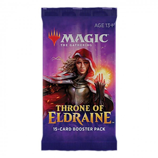 MAGIC THE GATHERING - THRONE OF ELDRAINE - BOOSTER