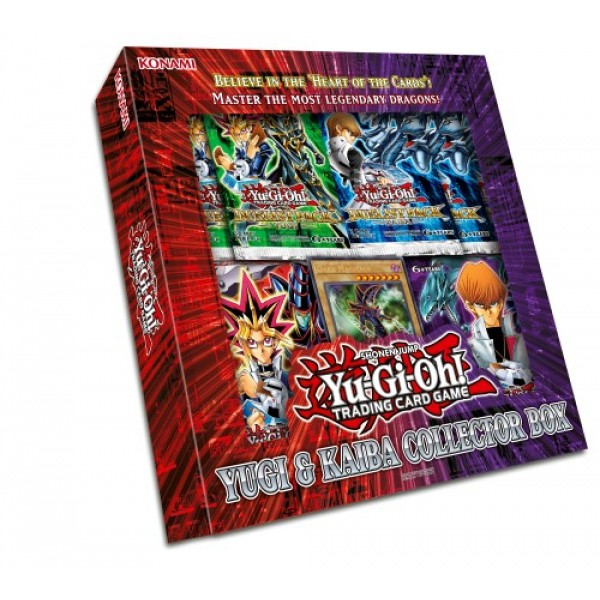 YGO - COLLECTOR'S BOX - YUGI AND KAIBA - YU-GI-OH!