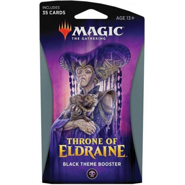 MAGIC THE GATHERING - THRONE OF ELDRAINE - THEME BOOSTER - BLACK