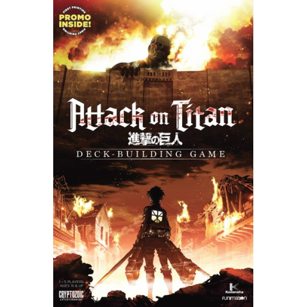 ATTACK ON TITAN: DECK-BUILDING GAME
