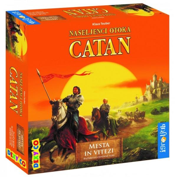 CATAN - MESTA IN VITEZI