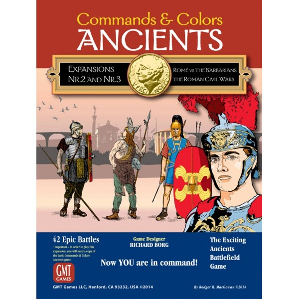COMMANDS AND COLORS: ANCIENTS EXPANSION 2 & 3