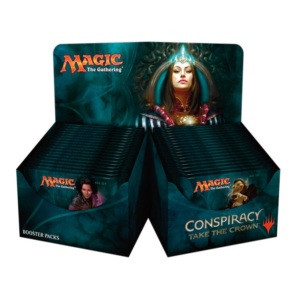 MAGIC THE GATHERING CONSPIRACY : TAKE THE CROWN BOOSTER DISPLAY (36 PACKS)