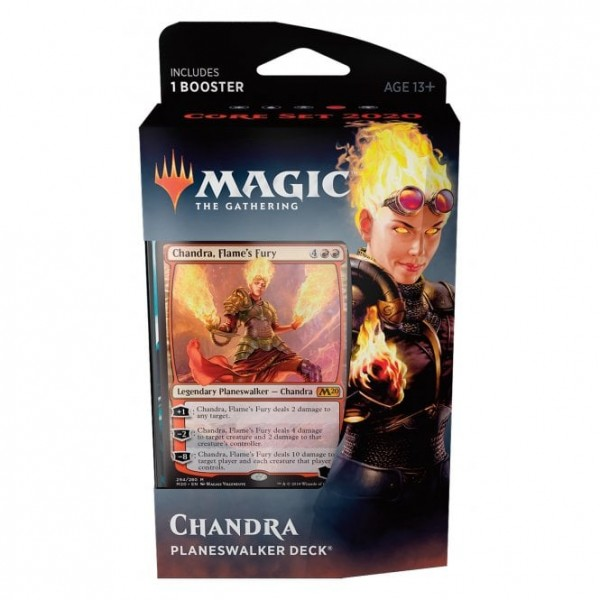 MAGIC THE GATHERING - CORE SET 2020 - PLANESWALKER DECK - CHANDRA