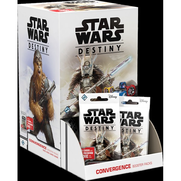 STAR WARS DESTINY - CONVERGENCE BOOSTER BOX