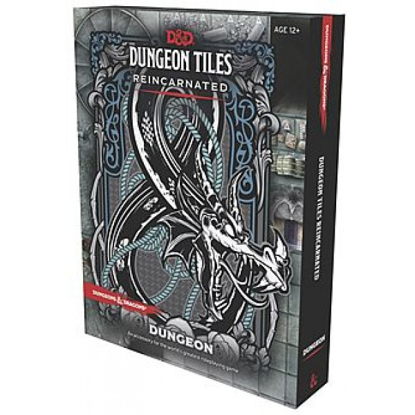 DUNGEONS AND DRAGONS RPG: DUNGEON TILES REINCARNATED DUNGEON