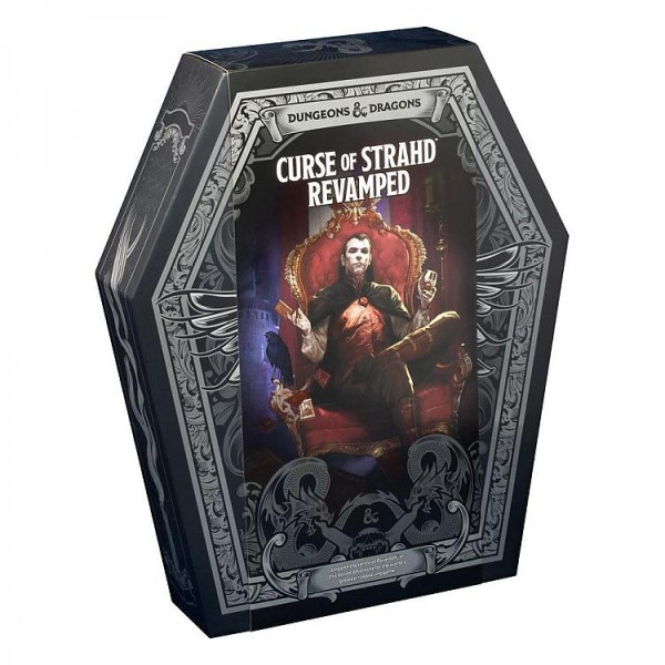 DUNGEONS AND DRAGONS RPG: CURSE OF STRAHD - REVAMPED EDITION