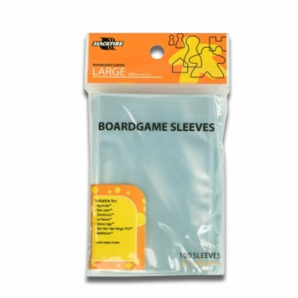 BOARDGAME SLEEVES - (62X96MM) - 100X - EURO