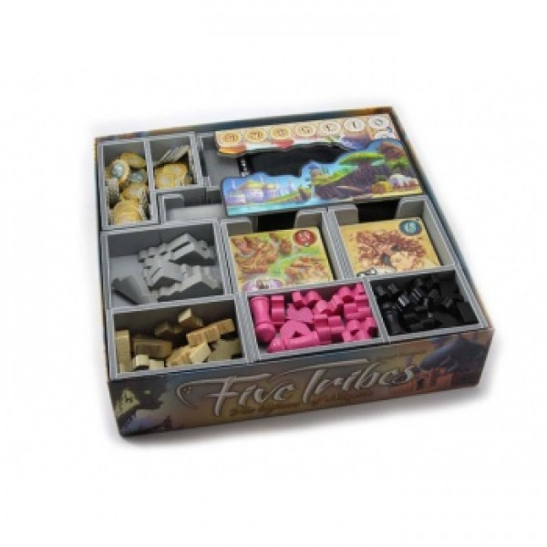 FIVE TRIBES INSERT - FOLDED SPACE