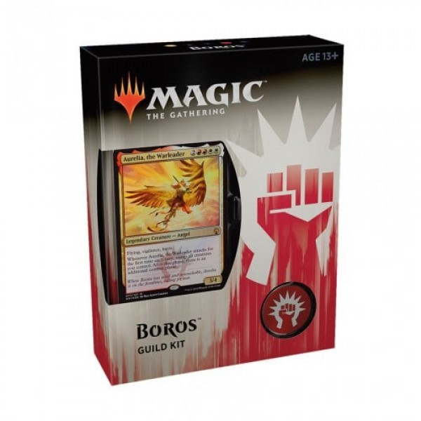 MAGIC THE GATHERING - GUILDS OF RAVNICA GUILD KIT - BOROS