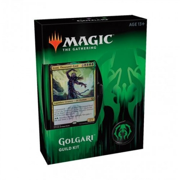 MAGIC THE GATHERING - GUILDS OF RAVNICA GUILD KIT - GOLGARI
