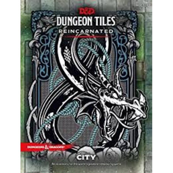 DUNGEONS AND DRAGONS RPG: DUNGEON TILES REINCARNATED CITY