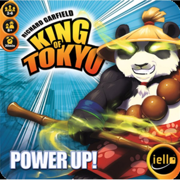 KING OF TOKYO SECOND EDITION - POWER UP!