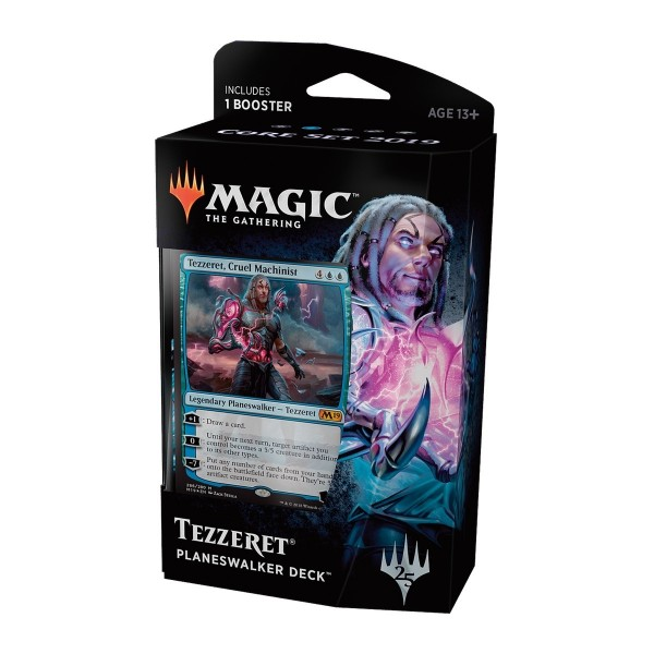 MAGIC THE GATHERING - CORE SET 2019 - PLANESWALKER DECK - TEZZERET