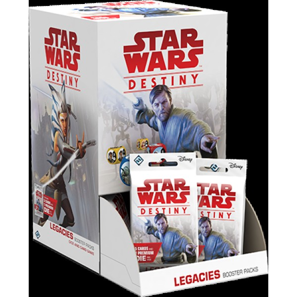 STAR WARS DESTINY - LEGACIES BOOSTER BOX - 36X