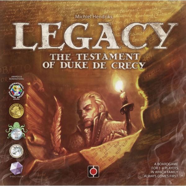 LEGACY THE TESTAMENT OF DUKE DE CRECY