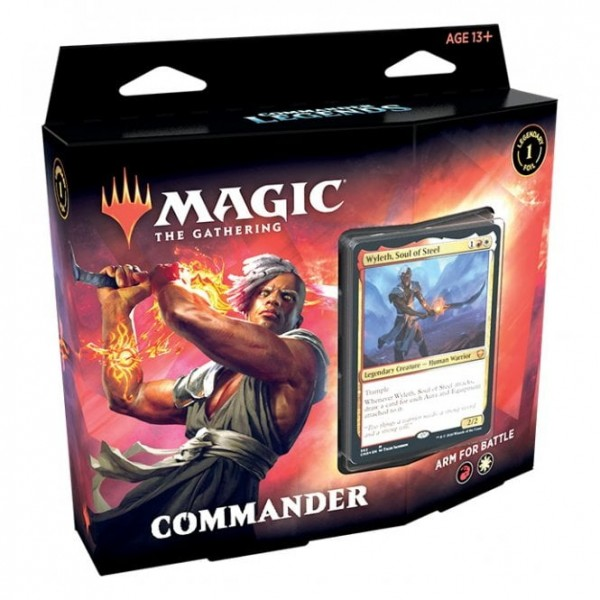 MAGIC THE GATHERING - COMMANDER LEGENDS  - COMMANDER DECK - ARM FOR BATTLE