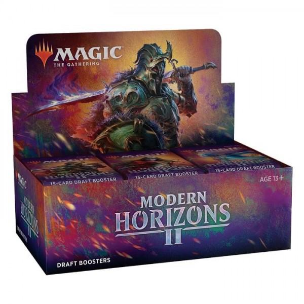 MAGIC THE GATHERING - MODERN HORIZONS 2 - DRAFT BOOSTER BOX - DATUM IZZIDA 18.6.2021