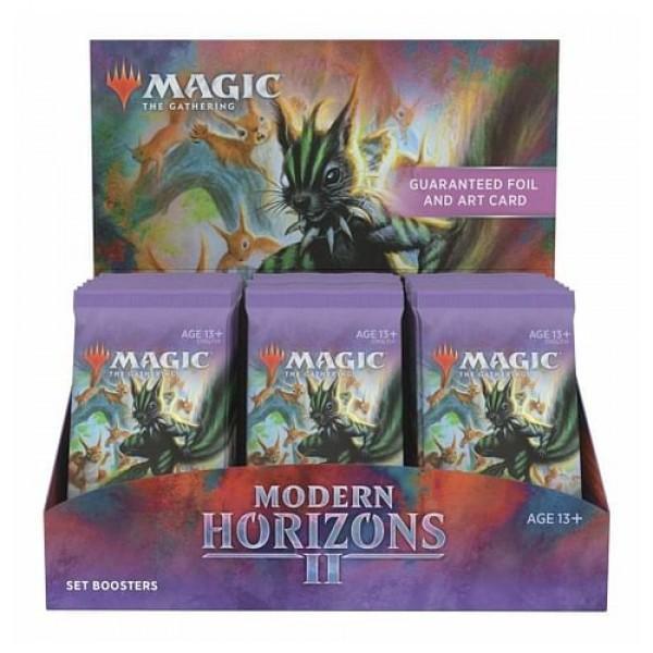 MAGIC THE GATHERING - MODERN HORIZONS 2 - SET BOOSTER BOX - DATUM IZZIDA 18.6.2021